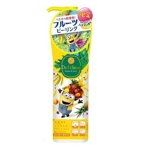 DETクリア ブライト&ピール ピーリングジェリー ミニオンズ 180mL 明色化粧品