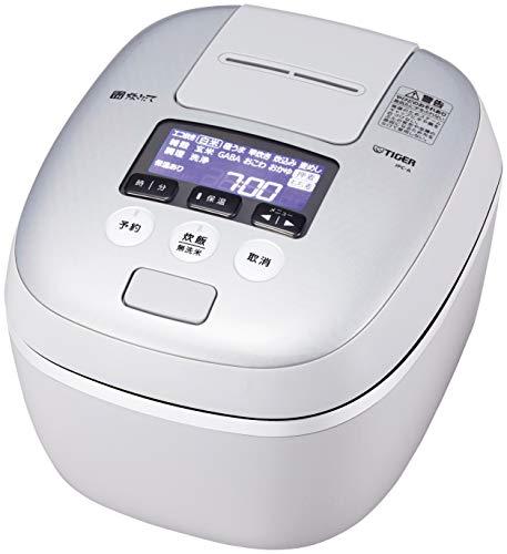 タイガー 炊飯器 圧力IH式  極うま機能 炊きたて 5.5合炊き ホワイトグレー JPC-A101-WH