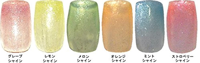 日没ラボダイヤモンドMELTY GEL(メルティージェル)3g シャイン 6色??? グレープ?レモン?メロン?オレンジ?ミント?ストロベリー