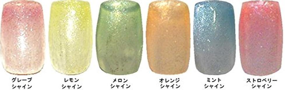 葉を拾うオーロック均等にMELTY GEL(メルティージェル)3g シャイン 6色??? グレープ?レモン?メロン?オレンジ?ミント?ストロベリー