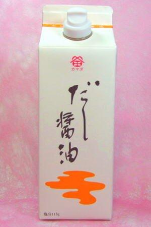 鎌田醤油 だし醤油 500ml 1本