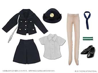 ピコニーモサイズ 1/12 女性警察官セット 紺 (ドール用)