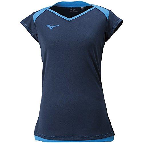 [해외](미즈노) MIZUNO (미즈노) 배구웨어 사례 캡 슬리브 셔츠 [여성]/(Mizuno) MIZUNO (Mizuno) volleyball wear practice cap sleeve shirt [ladies]