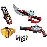 海賊戦隊ゴーカイジャー 変身携帯DXモバイレーツ/DXゴーカイサーベル/DXゴーカイガン/ゴーカイバックル/レンジャーキーシリーズ レンジャーキーセットDX なりきり5点セット