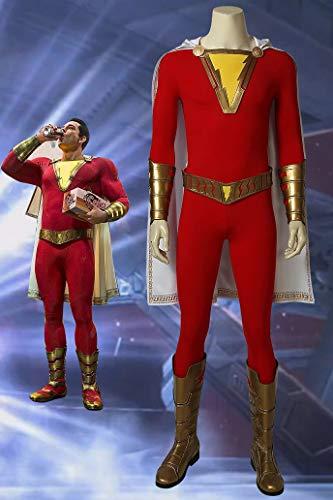 キャプテン・マーベル シャザム Shazam Captain Marvel Billy Batson ブーツ付き