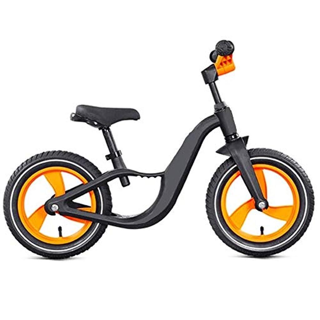 考古学助言するシロクマ自転車子供のバランス車のアルミ合金2-6歳のスクーターの子供の子供たちはペダルなしでスライド (Color : B)