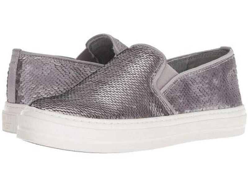 ウィザードさておき支給Nine West(ナインウエスト) レディース 女性用 シューズ 靴 スニーカー 運動靴 Obliviator - Grey/Silver Synthetic [並行輸入品]