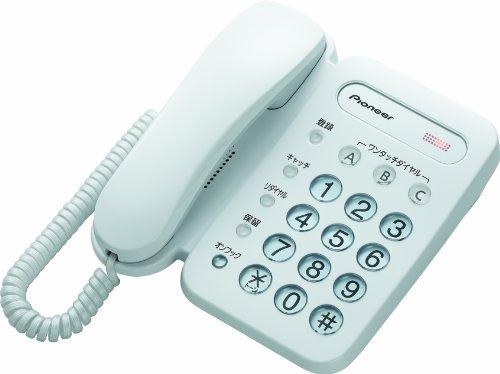 Pioneer 電話機 親機のみ TF-12-W