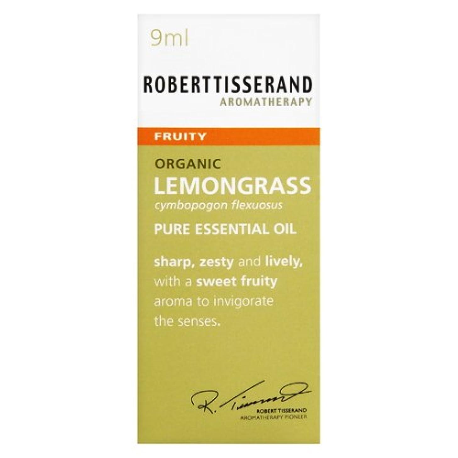 腹放置どんよりしたロバートティスランド 英国土壌協会認証 オーガニック レモングラス 9ml