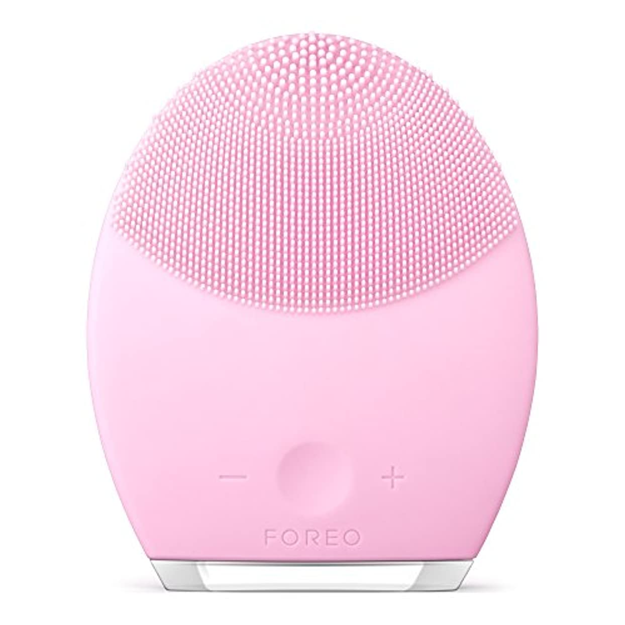 心理的確認するマッシュFOREO LUNA 2 for ノーマルスキン 電動洗顔ブラシ シリコーン製 音波振動