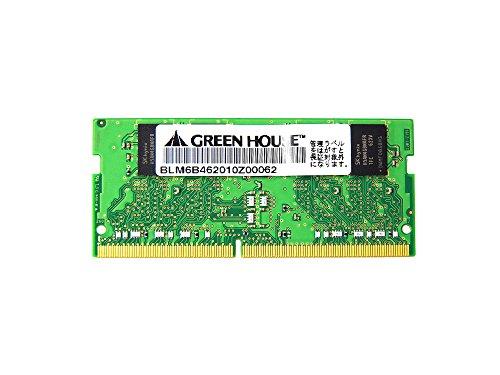 グリーンハウス GH-DNF2400-4GB 4GB 260pin PC4-19200 DDR4 SO-DIMM