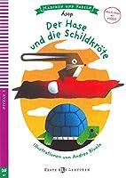 Der Hase und die Schildkroete. Buch und Audio-CD