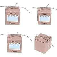 TeamTop 50個 ギフトボックス キャンディボックス お菓子箱 チョコレート 包装箱 パーティー 結婚式 店舗飾 撮影アイテム 贈り物 ギフトボックス (Little Prince)