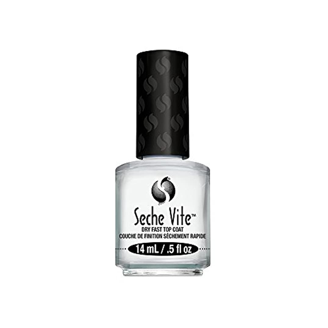 省洗う割れ目(3 Pack) SECHE Vite Dry Fast Top Coat (並行輸入品)