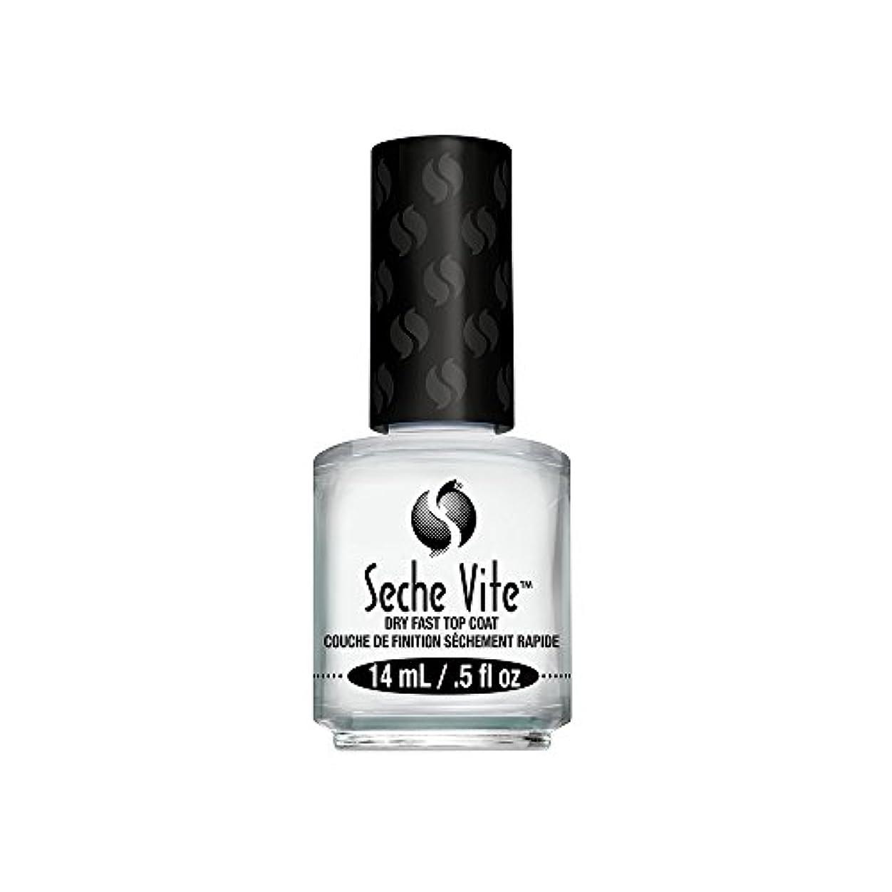サロン発行処方(6 Pack) SECHE Vite Dry Fast Top Coat (並行輸入品)