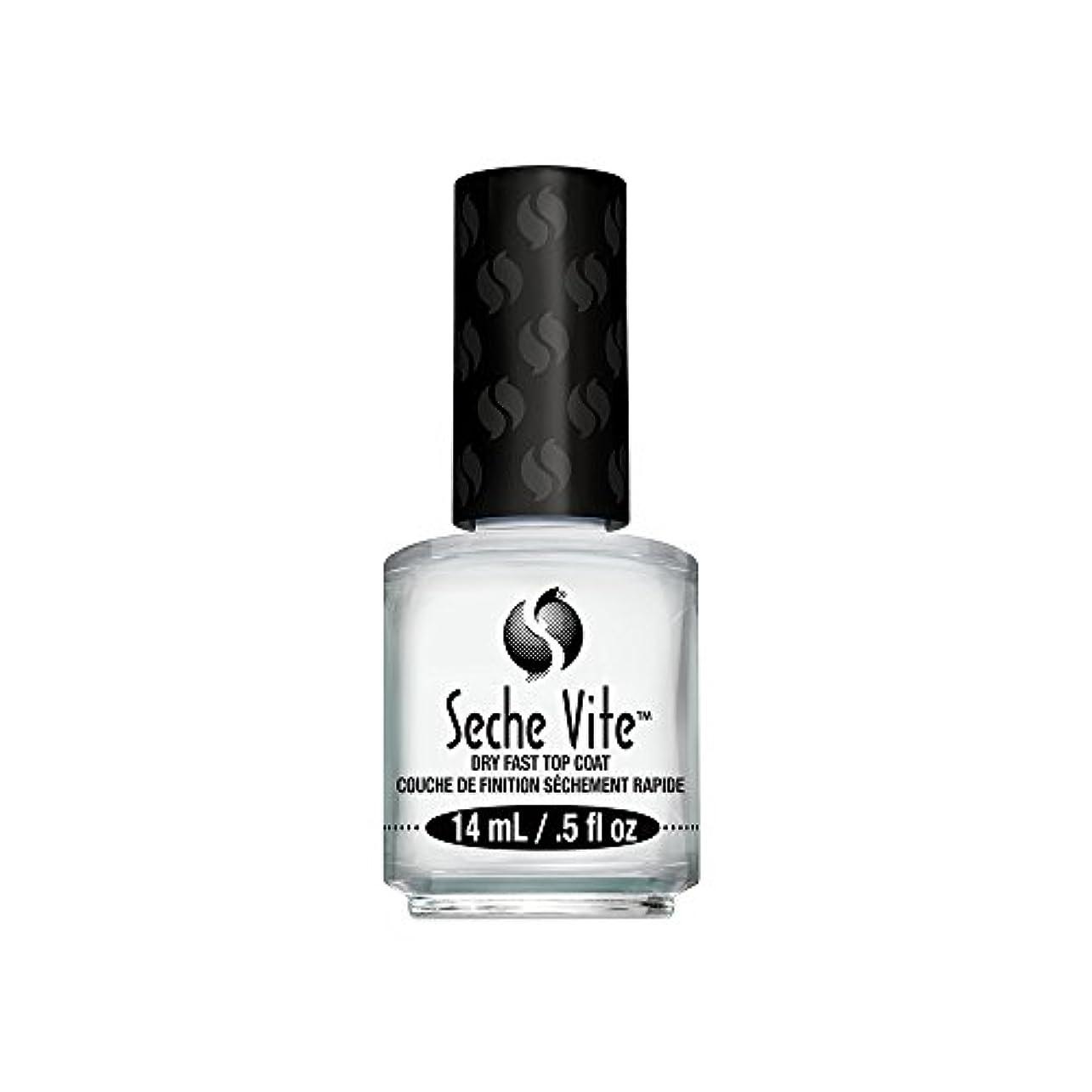 敗北煙突枯渇する(6 Pack) SECHE Vite Dry Fast Top Coat (並行輸入品)
