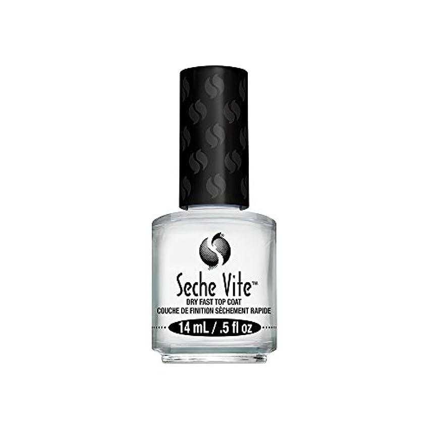 温度トイレ栄光の(6 Pack) SECHE Vite Dry Fast Top Coat (並行輸入品)
