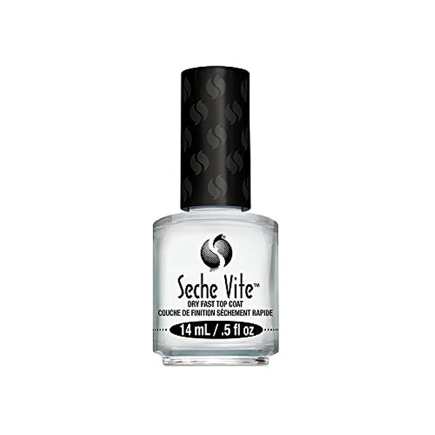 親指エスカレート縮約(6 Pack) SECHE Vite Dry Fast Top Coat (並行輸入品)