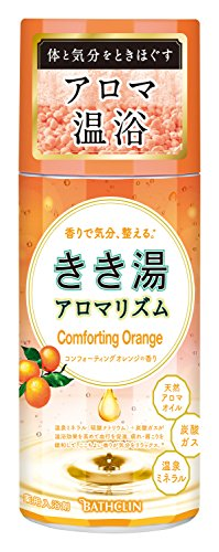 【医薬部外品】きき湯 アロマリズム コンフォーティングオレンジの香り 360g 入浴剤