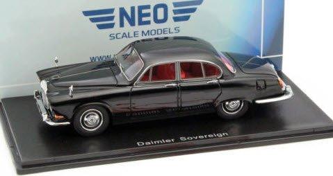 ネオ NEO 1/43 ダイムラー ソブリン 1967 ブラック RHD