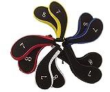 プーマ 時計 アイアン カバー ファスナー タイプ 番手 刺繍 入り 10個 セット(赤、 青、 白、 黄、 黒、ピンク)