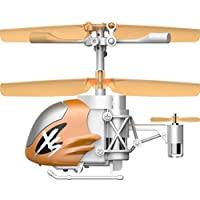 Silverlit Nano Falcon XS - Remote Control Helicopter, Orange [並行輸入品]