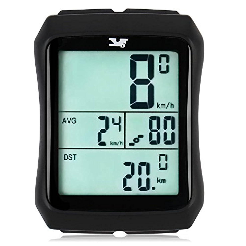 振りかけるまぶしさ信じられない007 KKバイク速度計防水ワイヤレス自転車自転車コンピュータと走行距離計with Cadenceセンサーのアウトドアサイクリング、フィットネス