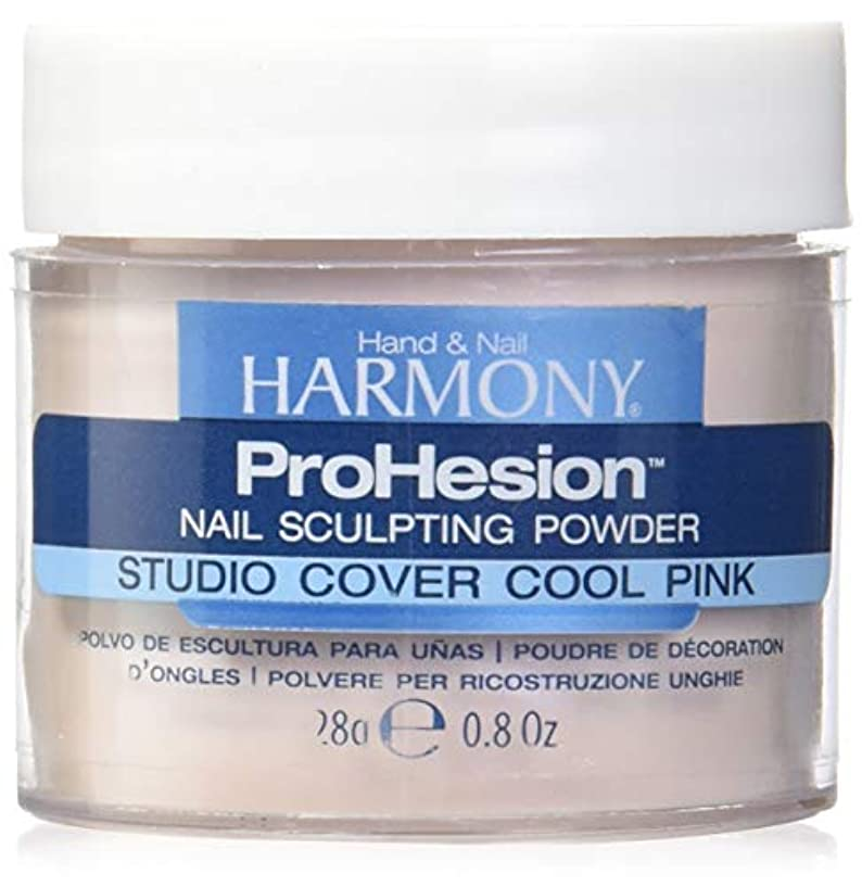 聴覚障害者スタジオ対象Harmony Prohesion Sculpting Powder - Studio Cover Cool Pink - 0.8oz / 28g