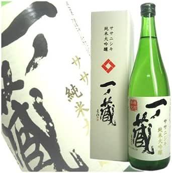 一ノ蔵 宮城県産ササニシキ100% 純米大吟醸 720ml