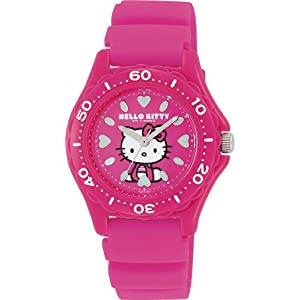 [シチズン キューアンドキュー]CITIZEN Q&Q 腕時計 Hello Kitty (ハローキティ) ダイバー アナログ表示 10気圧防水