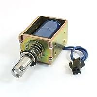 直流24V 2mmの800グラムプッシュは断続的なアクチュエータ電磁石ソレノイドを引いて
