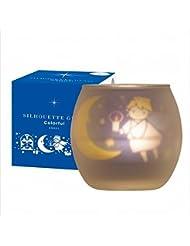 カメヤマキャンドル(kameyama candle) シルエットグラスカラフルエンジェル【キャンドル4個付き】
