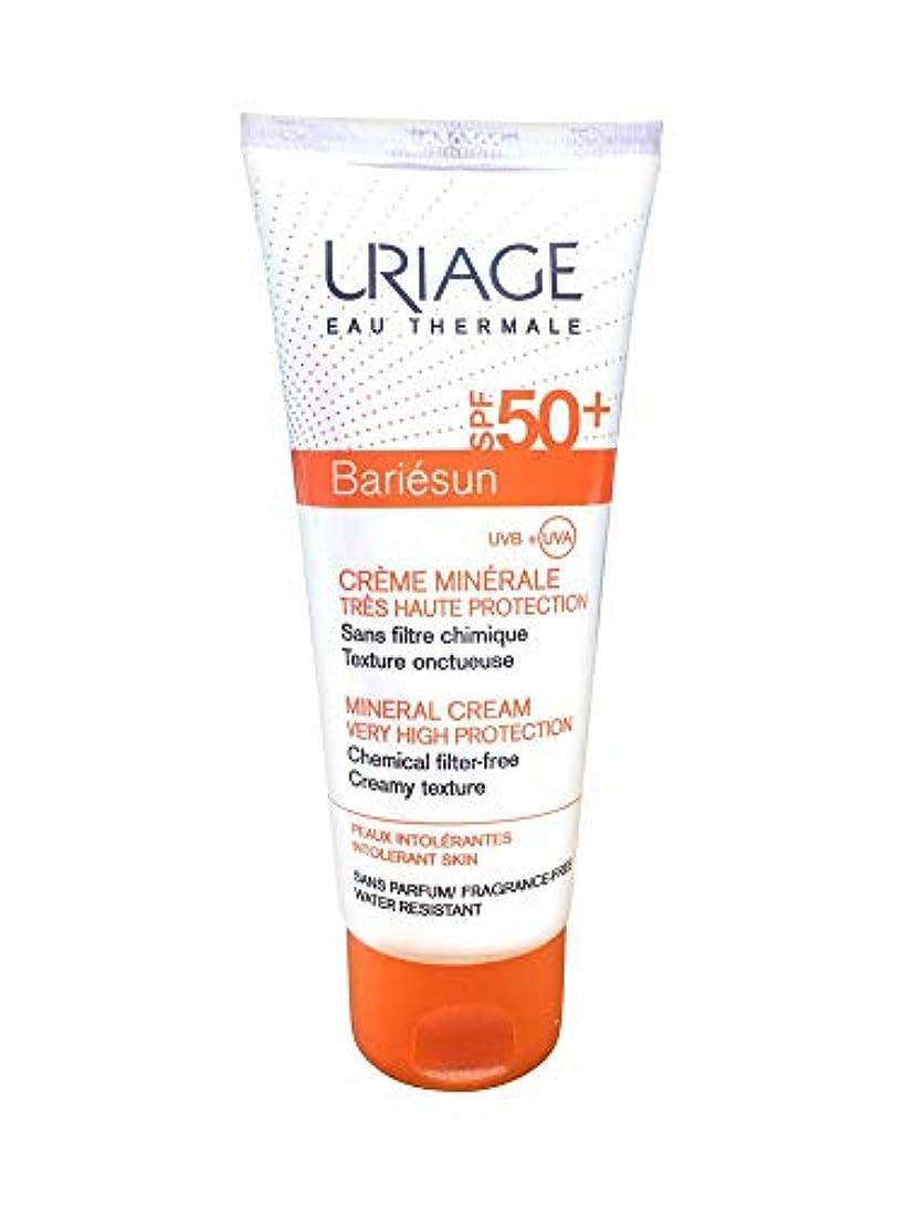 キャンバステロリストディレクターUriage Bariesun Mineral Cream Spf50+ 100ml [並行輸入品]