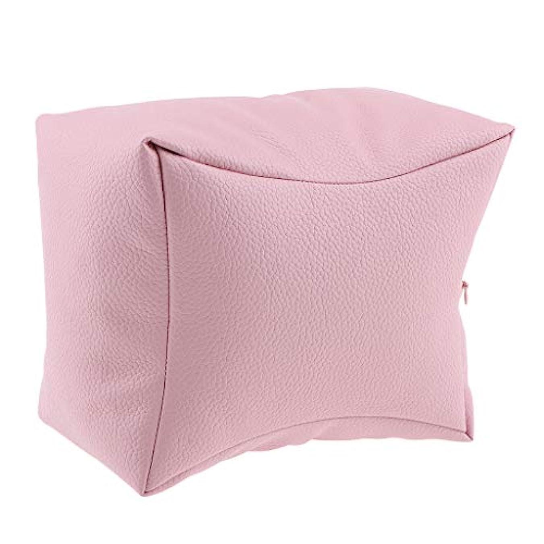 制限する徒歩で集団的ネイルアート 手枕 ハンドピロー レストピロー ハンドクッション ネイルサロン 4色選べ - ピンク