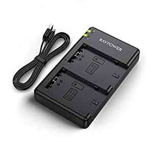 RAVPower バッテリーパック NP-FZ100 充電器 (USB 急速充電) NP-FZ100 など対応 RP-BC028