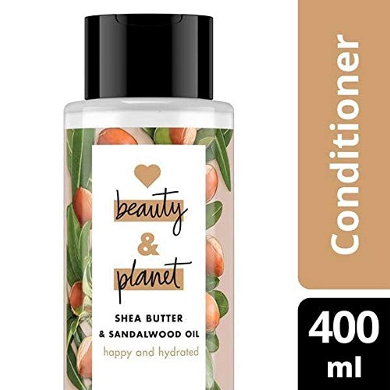 交通どれかメイト[Love Beauty and Planet ] 美しさと地球の幸せ&水和コンディショナーを愛し - Love Beauty And Planet Happy & Hydrated Conditioner [並行輸入品]