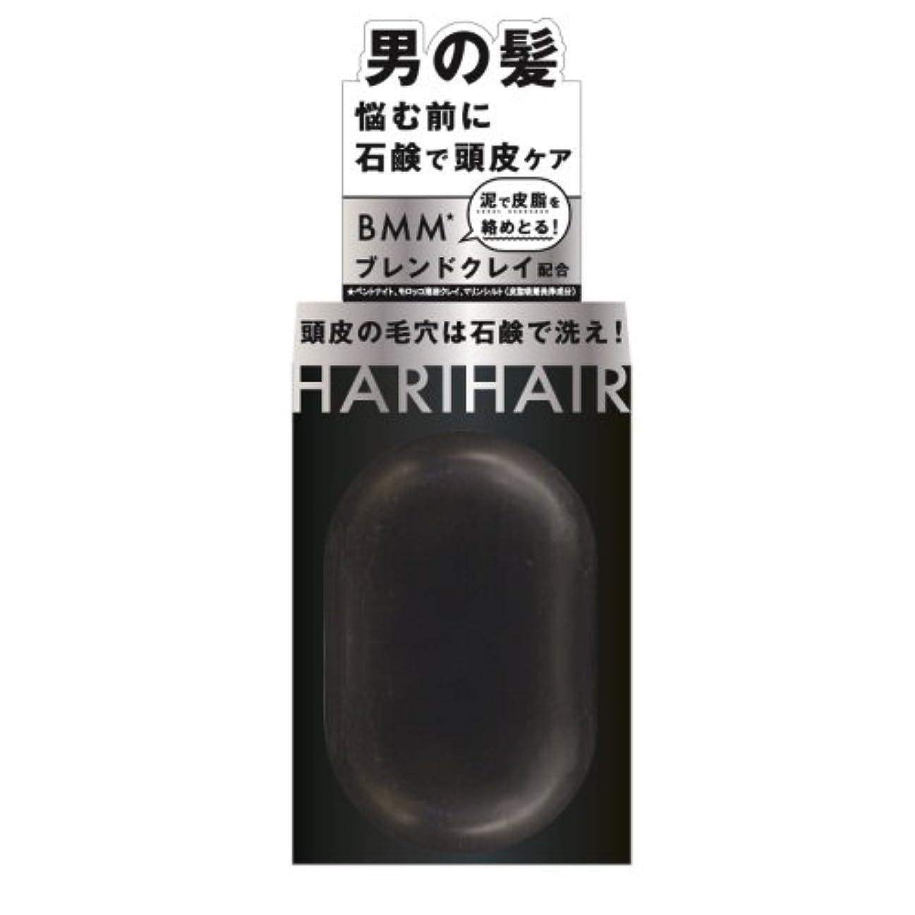 ニコチンフルーティー全滅させるペリカン石鹸 ハリヘア 固形シャンプー 100g