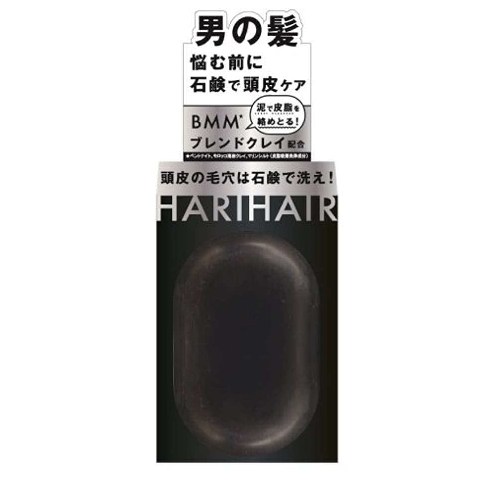 展示会回路驚かすペリカン石鹸 ハリヘア 固形シャンプー 100g