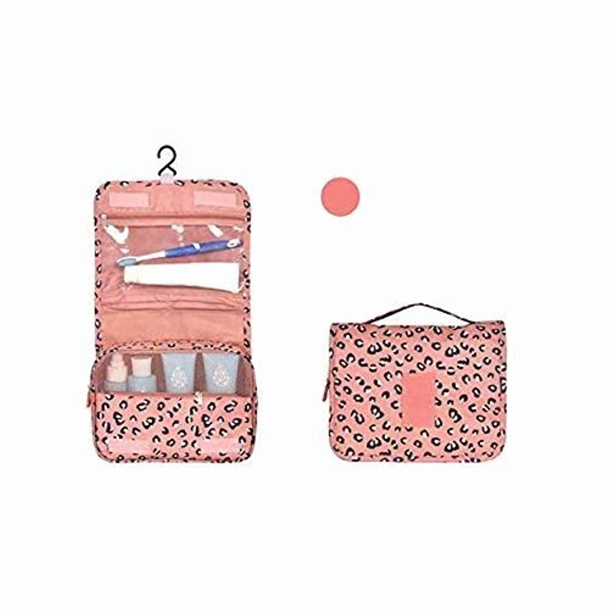 せがむ放射能配偶者トラベルバッグコスメティックコスメティックバッグトラベルバッグバスルームバッグマジックテープフック収納袋コスメティックバッグハンギングトラベル キットの内容:1個