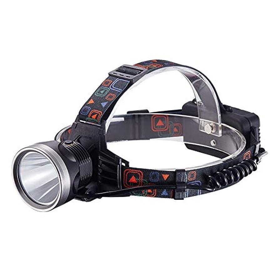 者ピンピケヘッドライト、長い電池寿命、強い光、キセノンランプ、充電式鉱夫用ランプ、超高輝度、懐中電灯、屋外狩猟、黄色の光