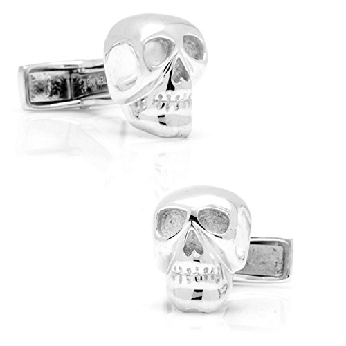 Ox and Bull Trading Co。スターリングSkull Cufflinks