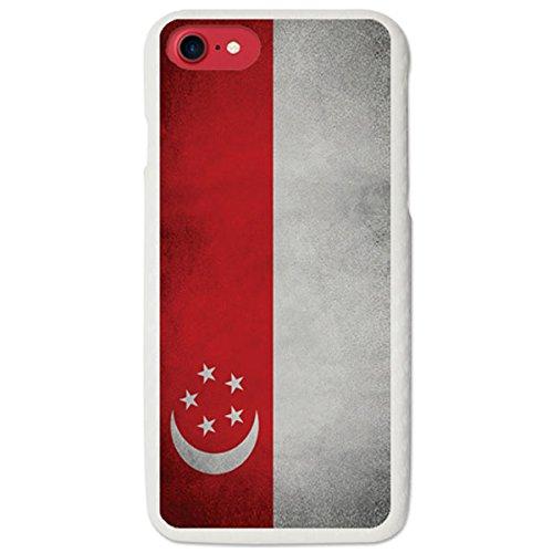 iPhone 5/5S/SE / アイフォン 5 5S SE 対応 ケース National Flags2 Hard 国旗シリーズ2 ハード ケース スマホ カバー SGP / シンガポール
