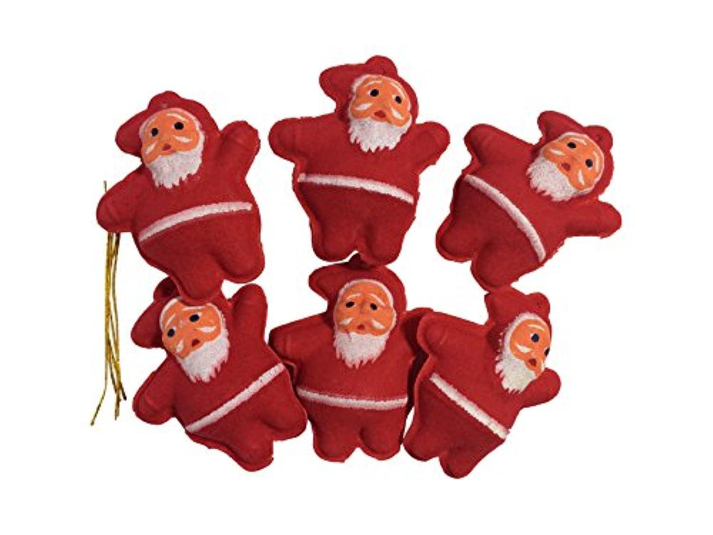 チビサンタ クリスマス ツリー用 飾り 6個セット [並行輸入品]