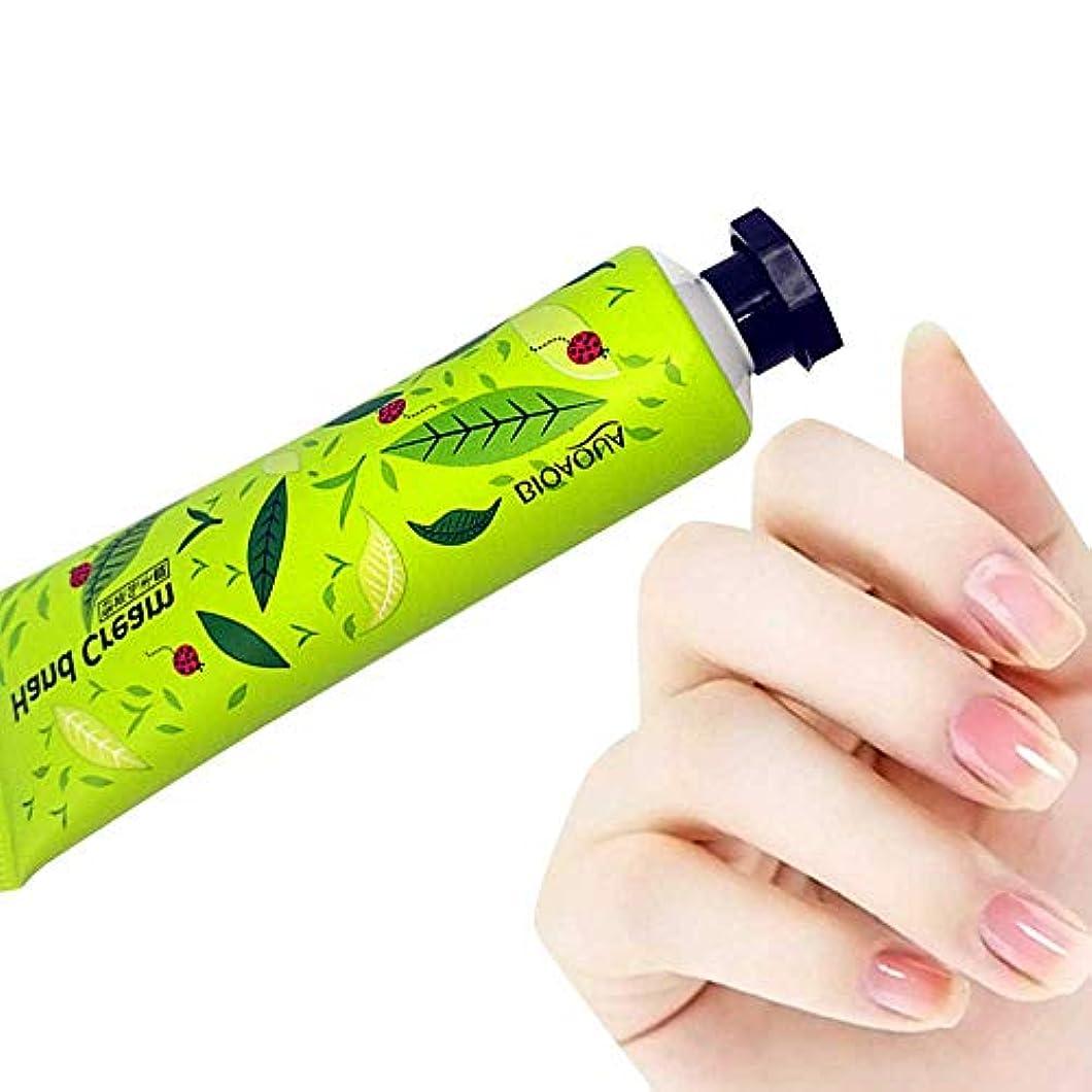 スポンジ奨励ナチュラハンドクリーム Akane BIOAOUA 植物エキス 潤う 保湿 水分補給 香り 手荒れを防ぐ 無添加 天然 乾燥肌用 自然 肌荒れ予防 Hand Cream