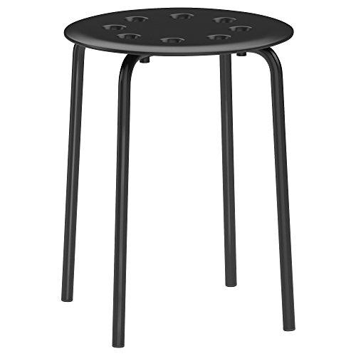 MARIUS IKEA スツール イス ブラック