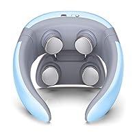筋肉の背中の首の肩の痛みの軽減のためのポータブルな首のマッサージャーの多機能の無線充満筋肉の救助,blue