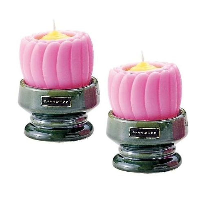 サバント紫のインペリアル台付ブロンマ 2個入 ピンク
