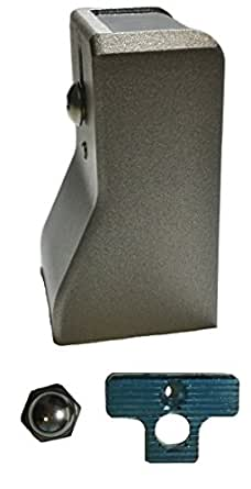 佐伯金属 業務用冷蔵庫用 フリーザー密閉用セフティハンドル用 受座 NK602用
