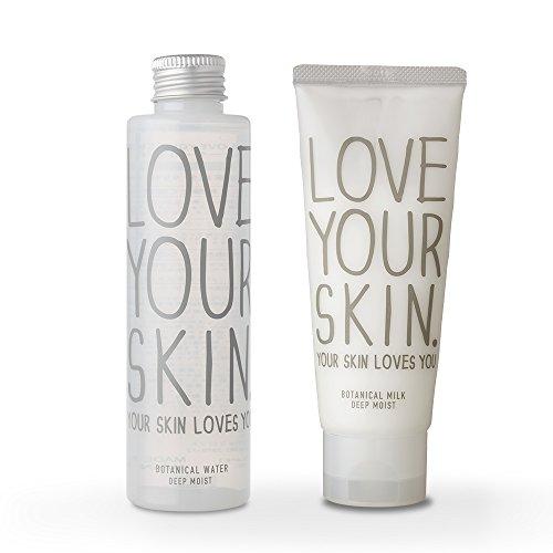 【セット】LOVE YOUR SKIN ボタニカルウォーター Ⅱ (化粧水) 160ml & ボタニカルミルク Ⅱ (乳液) 100g