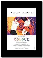 - The Christians - Colour - つや消しマウントマガジンプロモーションアートワーク、ブラックマウント Matted Mounted Magazine Promotional Artwork on a Black Mount